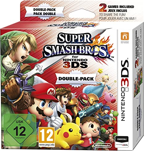 Pack Doble: Super Smash Bros.: Amazon.es: Videojuegos