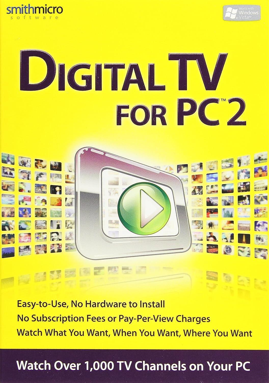amazon com digital tv for pc 2 software