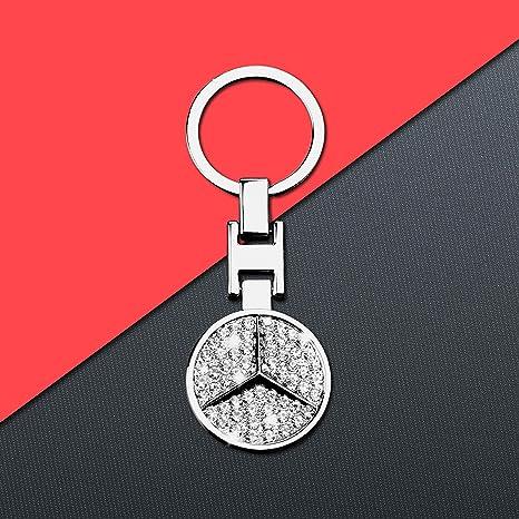 Amazon.com: Bailunte - Llavero con logo 3D para Mercedes ...