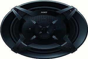 Sony XSFB6930 6 x 9-Inches 450 Watt 3-Way Car Audio Speakers, pair (Black)