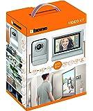 """BTicino 317113 Kit Videocitofono con 2 Fili Touchscreen 7"""" Mono/Bifamigliare, Grigio"""