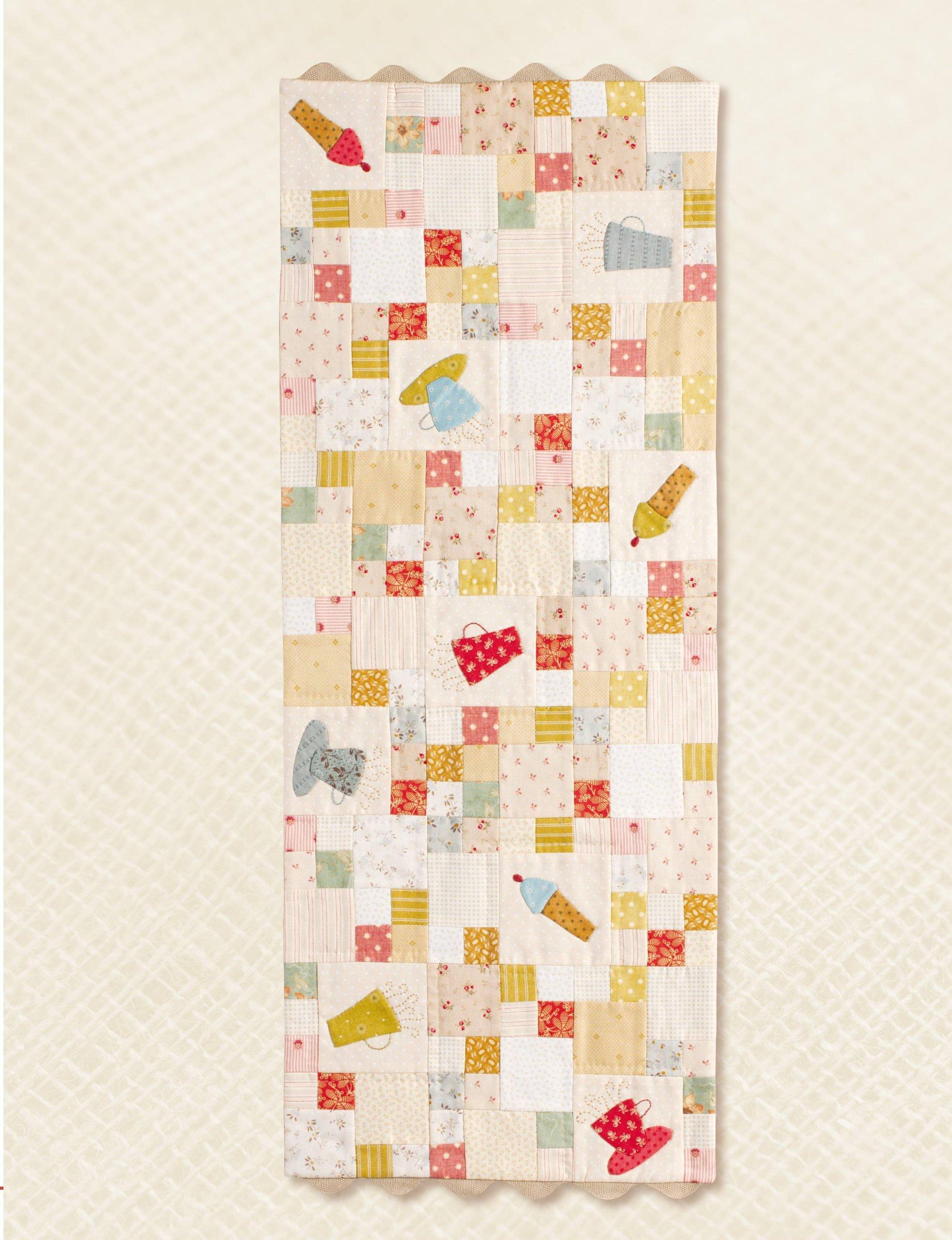 Aplicaciones de Patchwork y bordados hechos a mano: 16 ...