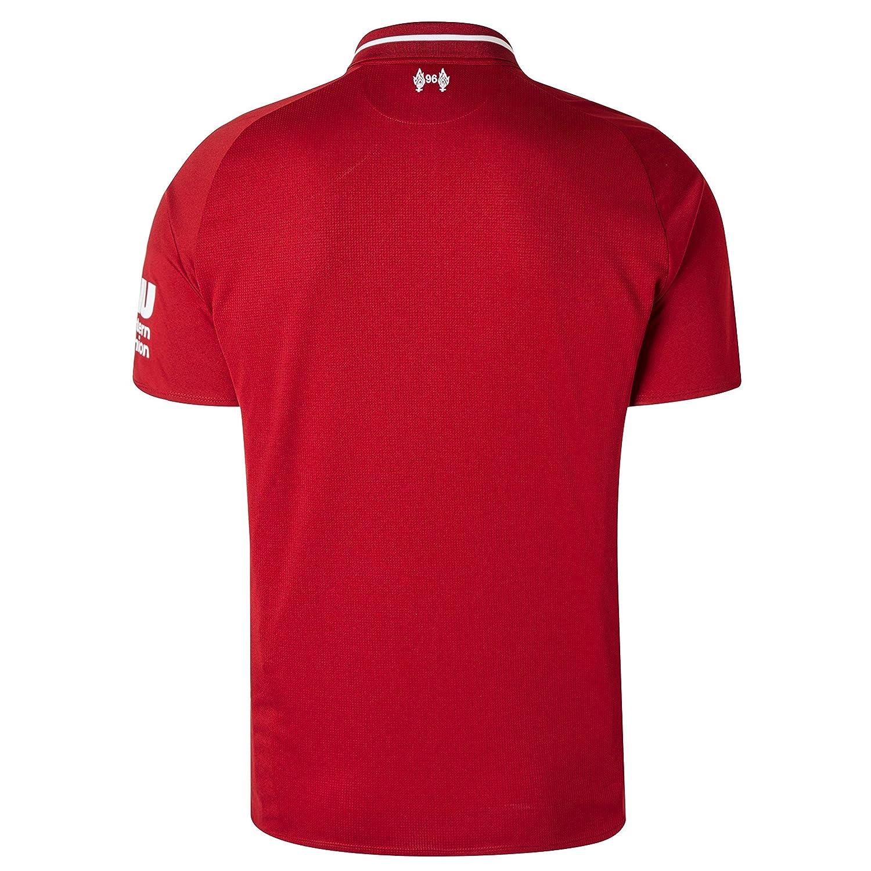 New Balance Mens Lfc Home Short Sleeve Football Jersey MT830000