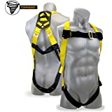 KwikSafety TORNADO 1D Fall Protection Full Body Safety Harness   OSHA Approved ANSI Compliant Industrial Roofing Tool Personal Protection Equipment   Construction Carpenter Scaffolding Contractor