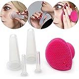 Lunata® coppette massaggio, coppettazione silicone, coppe anticellulite viso