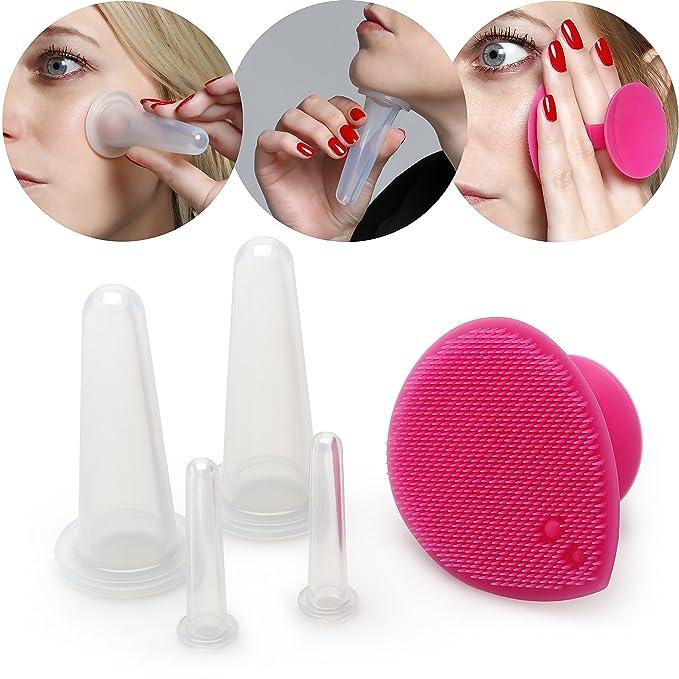 12 opinioni per Lunata® coppette massaggio, coppettazione silicone, coppe anticellulite viso
