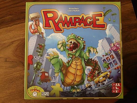 Brybelly Rampage Board Game by: Amazon.es: Juguetes y juegos