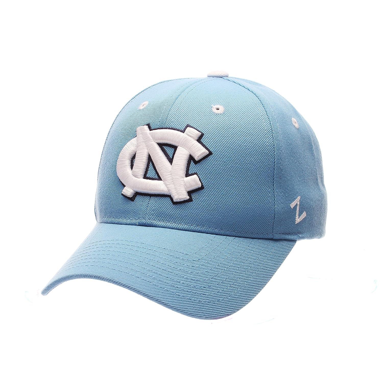 ZephyrメンズNorth Carolina TarヒールUNC Competitor Zwool調節可能な帽子ライトブルー   B01N56XMIP