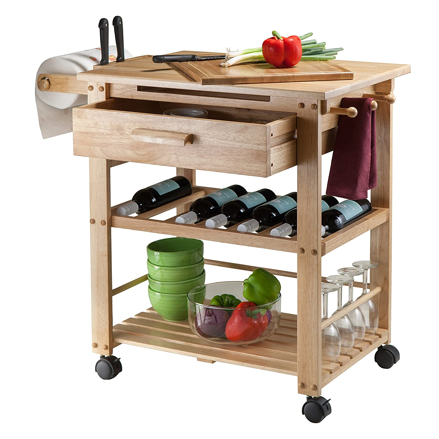 Awesome Amazon.com   Winsome Wood Finland Kitchen Cart   Kitchen Islands U0026 Carts