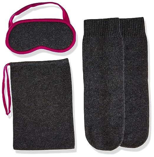 43434baf588 Amazon.com  Sofia Cashmere Women s Cashmere Travel Set-Eyemask and Socks