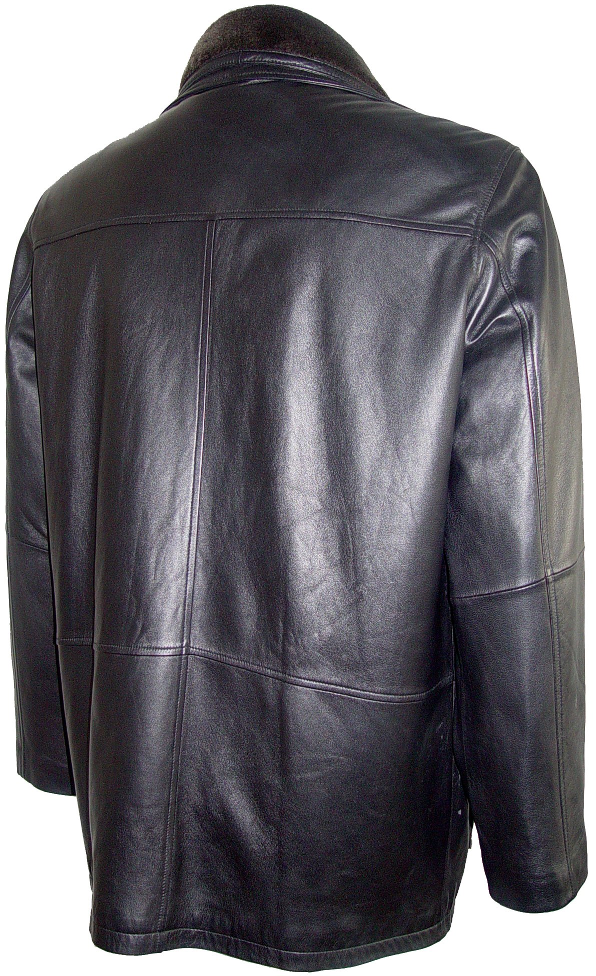 Johnnyblue Men 2002 Simply Tall Big All Size Lamb Leather Barn Coat by Johnnyblue (Image #6)