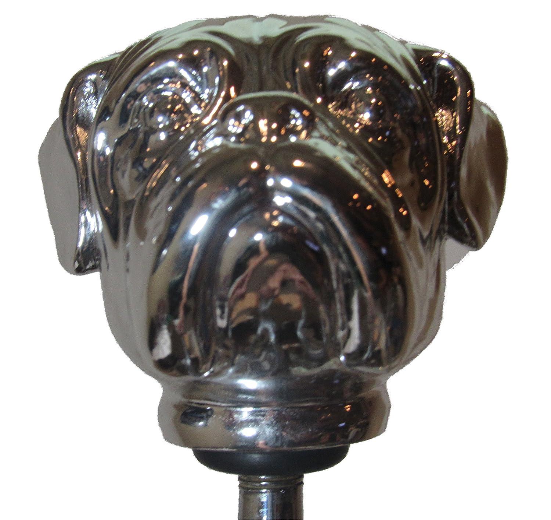 Kool Collectibles Chrome Bulldog Head Shift Knob Shifter Rat Rod Lever Mac Nor Cal Speed