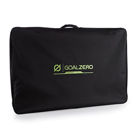 goal zero boulder 200 inside its briefcase