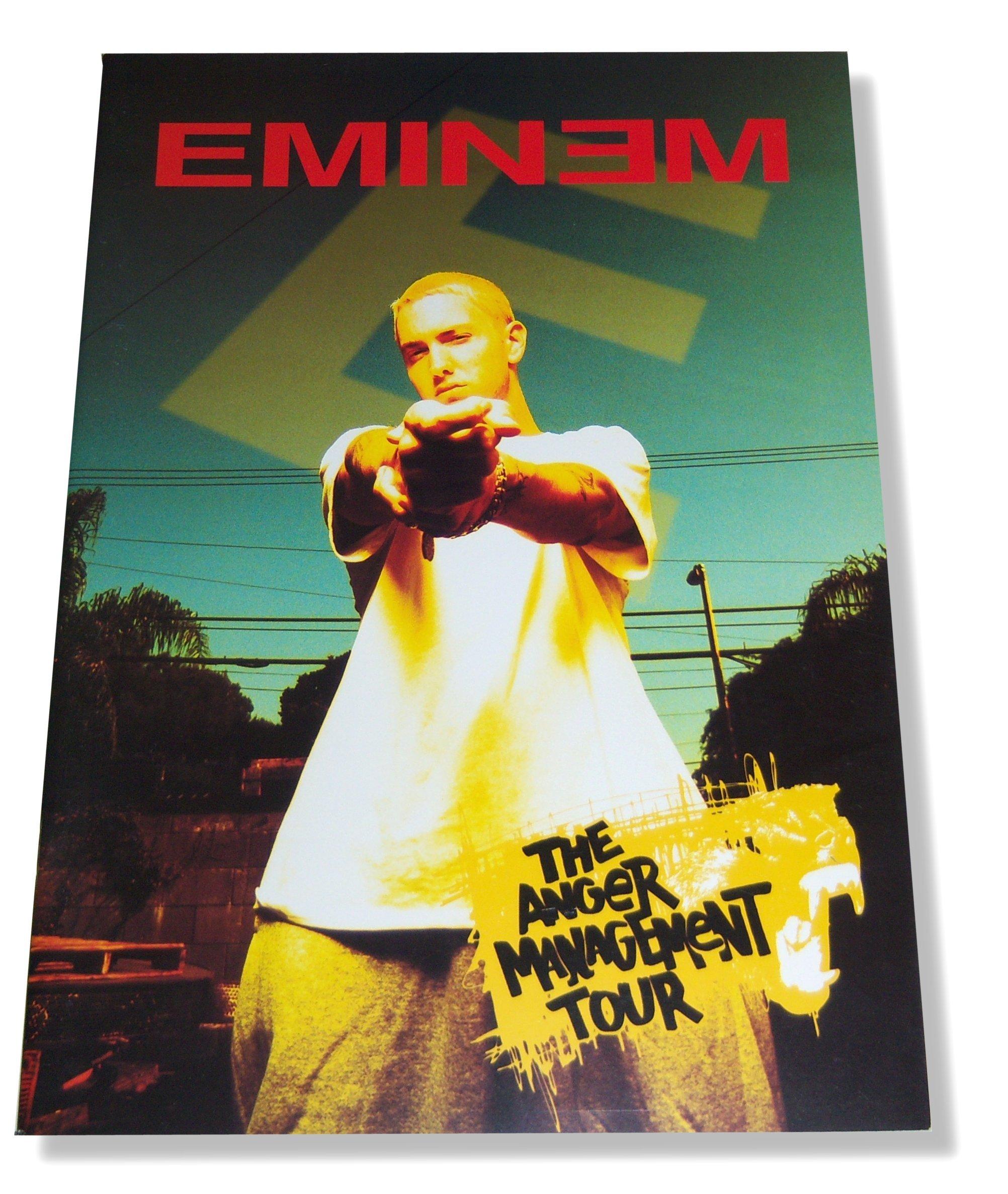 Eminem Anger Management 2003 Tour Book Ross Halfin 0673660976475 Amazon Com Books