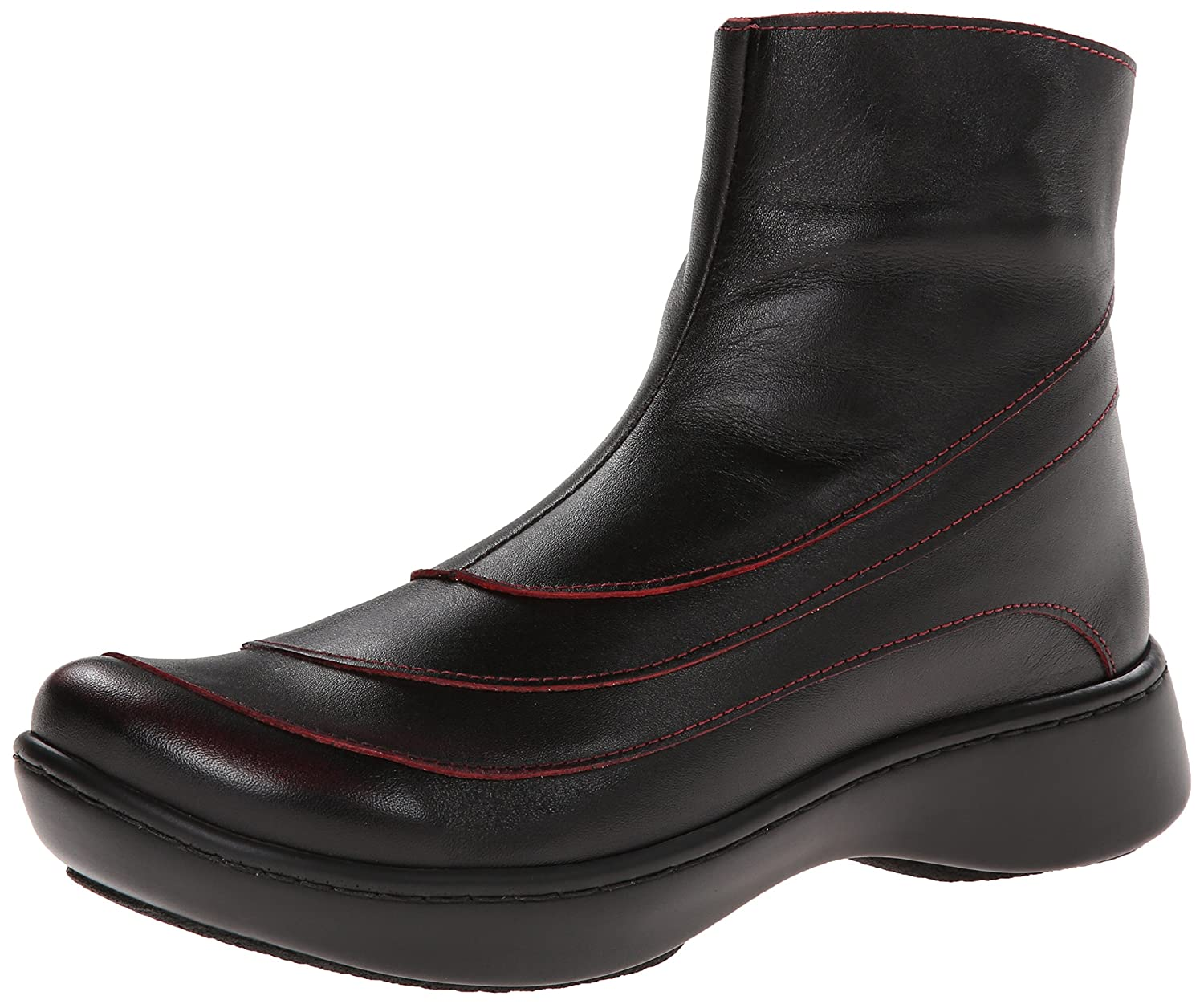 Volcanic Red Leather Naot Women's Tellin Boot
