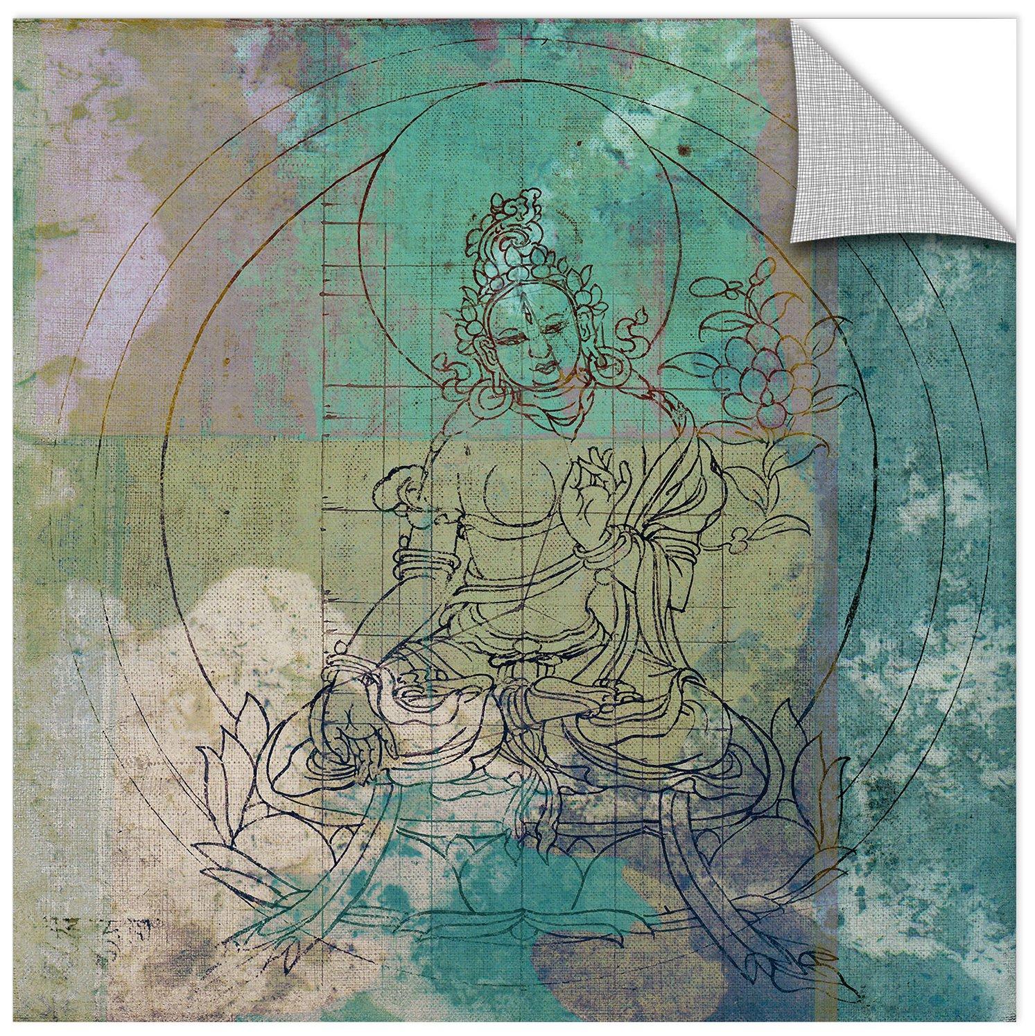 36X36 Elena Ray Buddha Remix I Removable Wall Art Mural