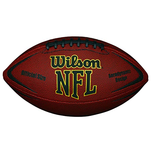 2 opinioni per Wilson Nfl Force Official Pallone da Football Americano, Marrone, Taglia Unica