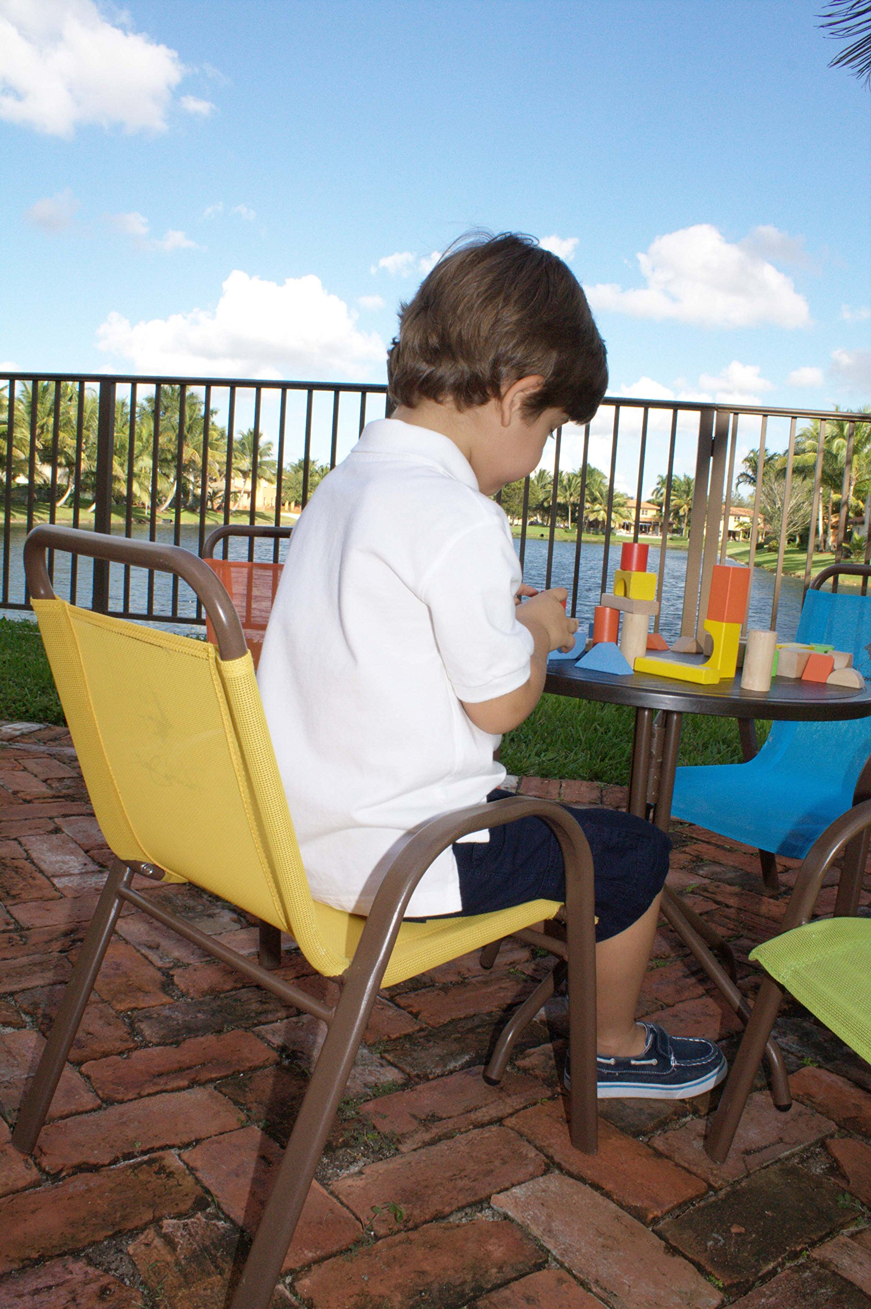 Panama Jack Kids 5-Piece Outdoor Dining Set, Multicolored by Panama Jack Kids (Image #8)