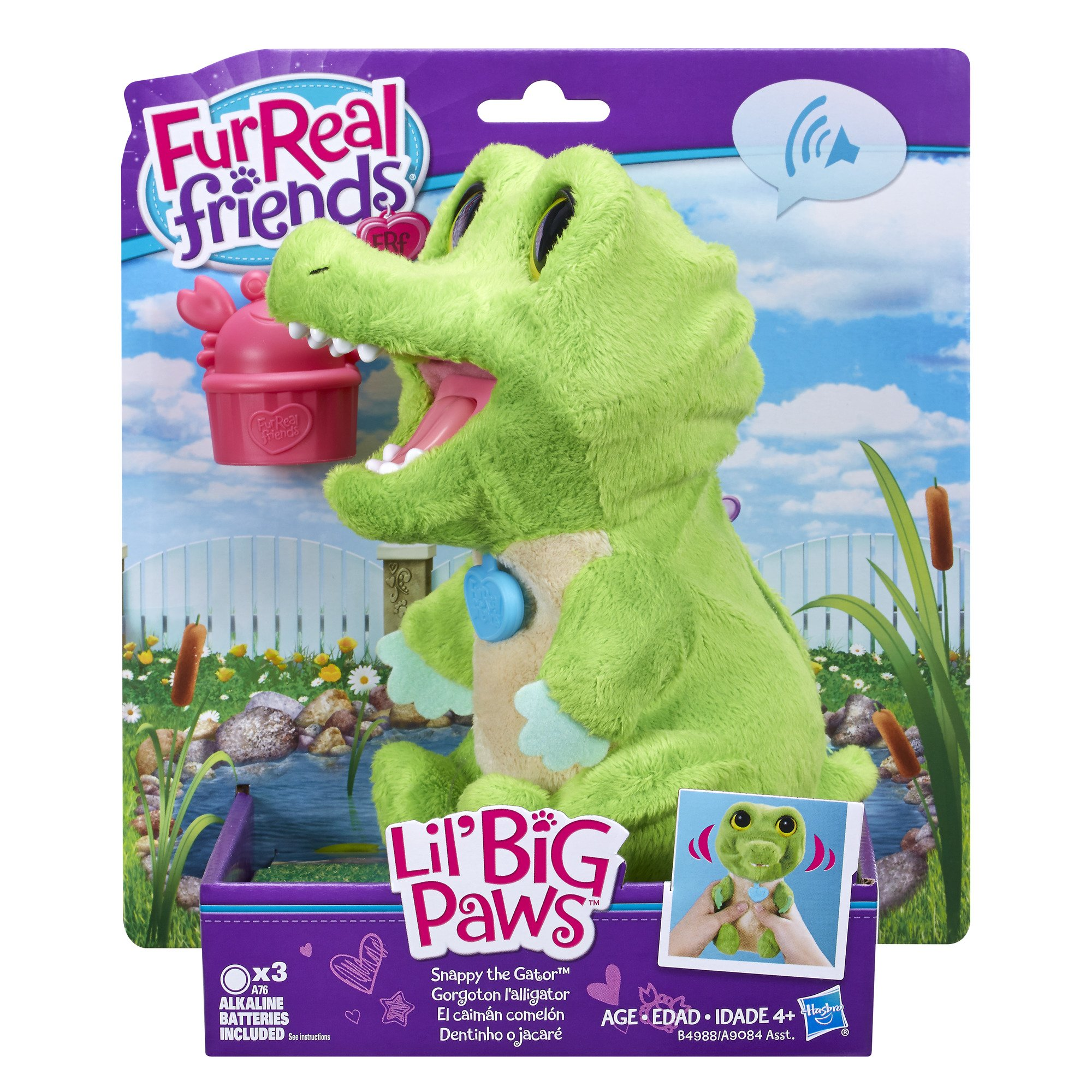 FurReal Friends Lil' Big Paws Snappy the Gator by FurReal (Image #2)
