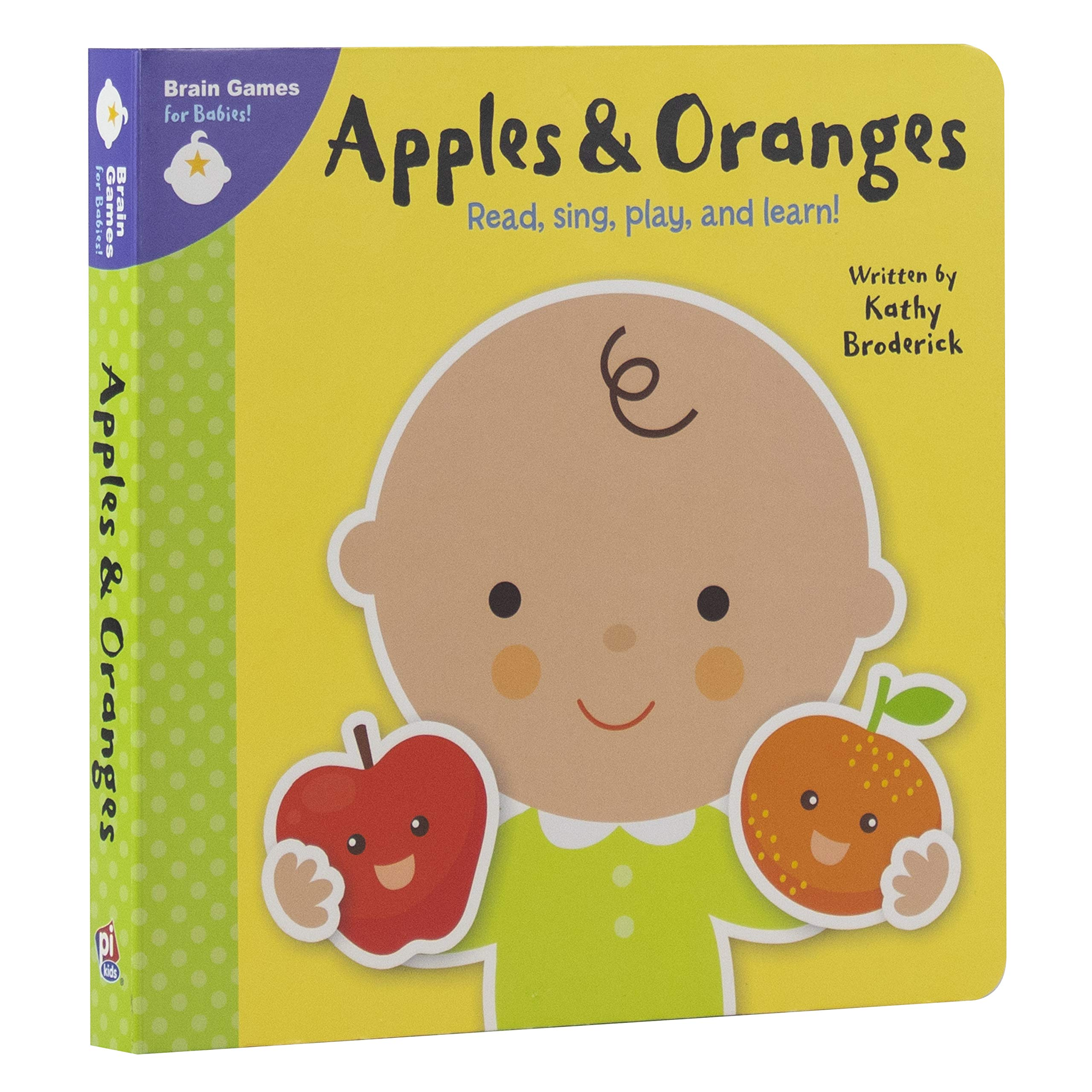 Brain Games for Babies - Apples & Oranges, Sing, Play and Learn