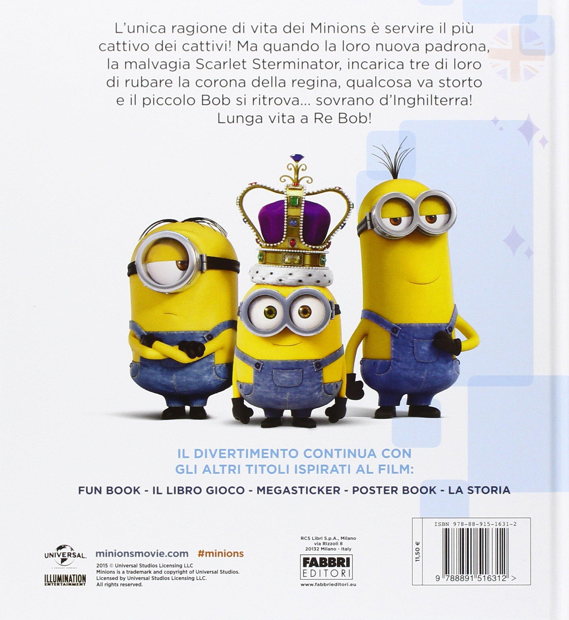 Amazonit Lunga Vita A Re Bob Minions Ediz Illustrata C