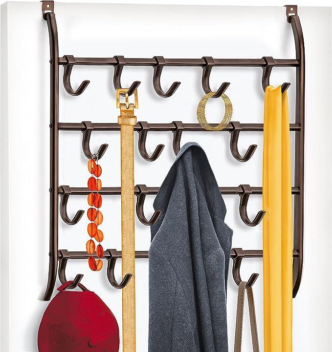 FT Metal Leaf Hook Door Wall Wardrobe Clothes Bag Key Scarf Hanger Decor Novelt