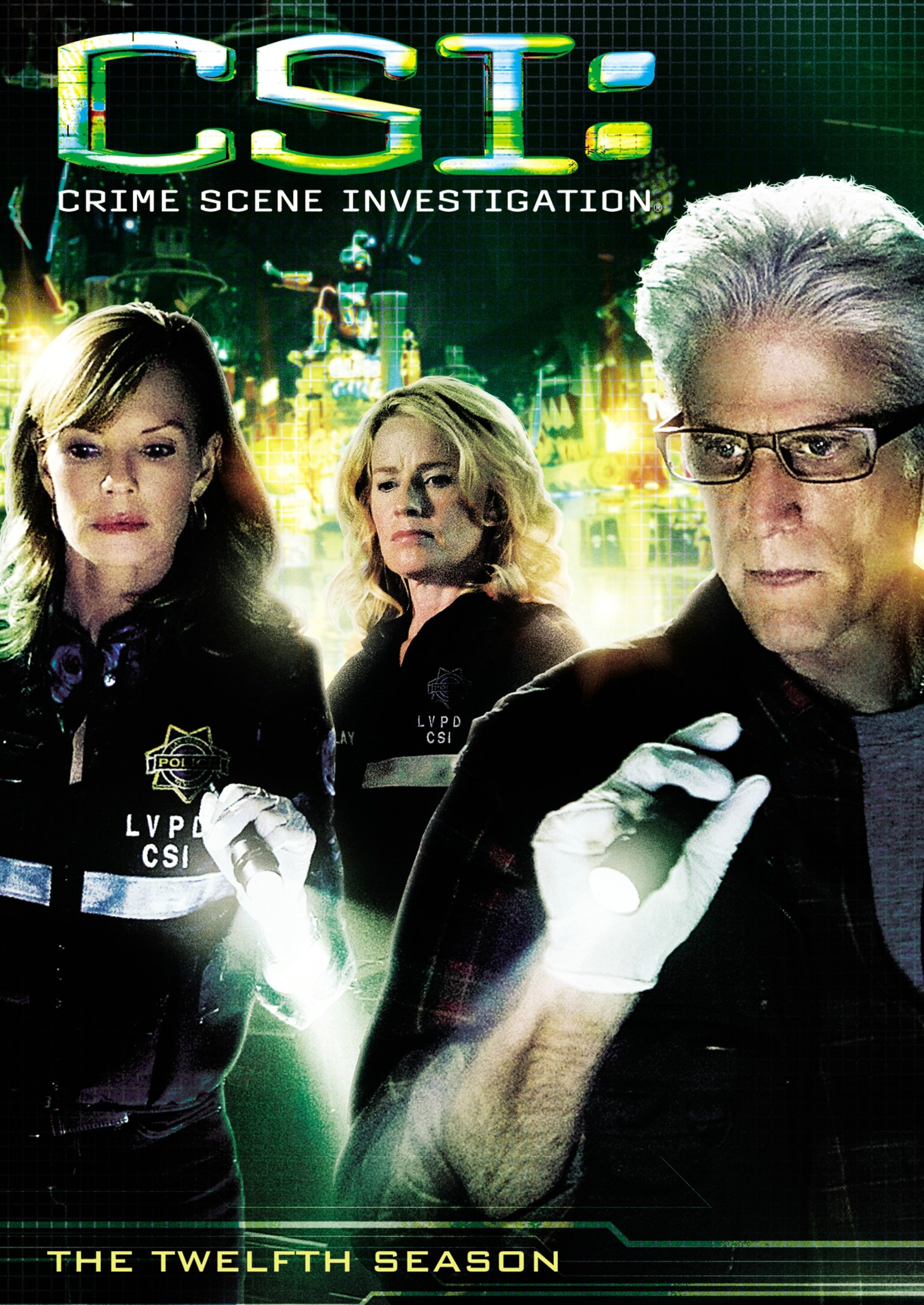 DVD : CSI: The Twelfth Season (Boxed Set, , AC-3, Dolby, Amaray Case)