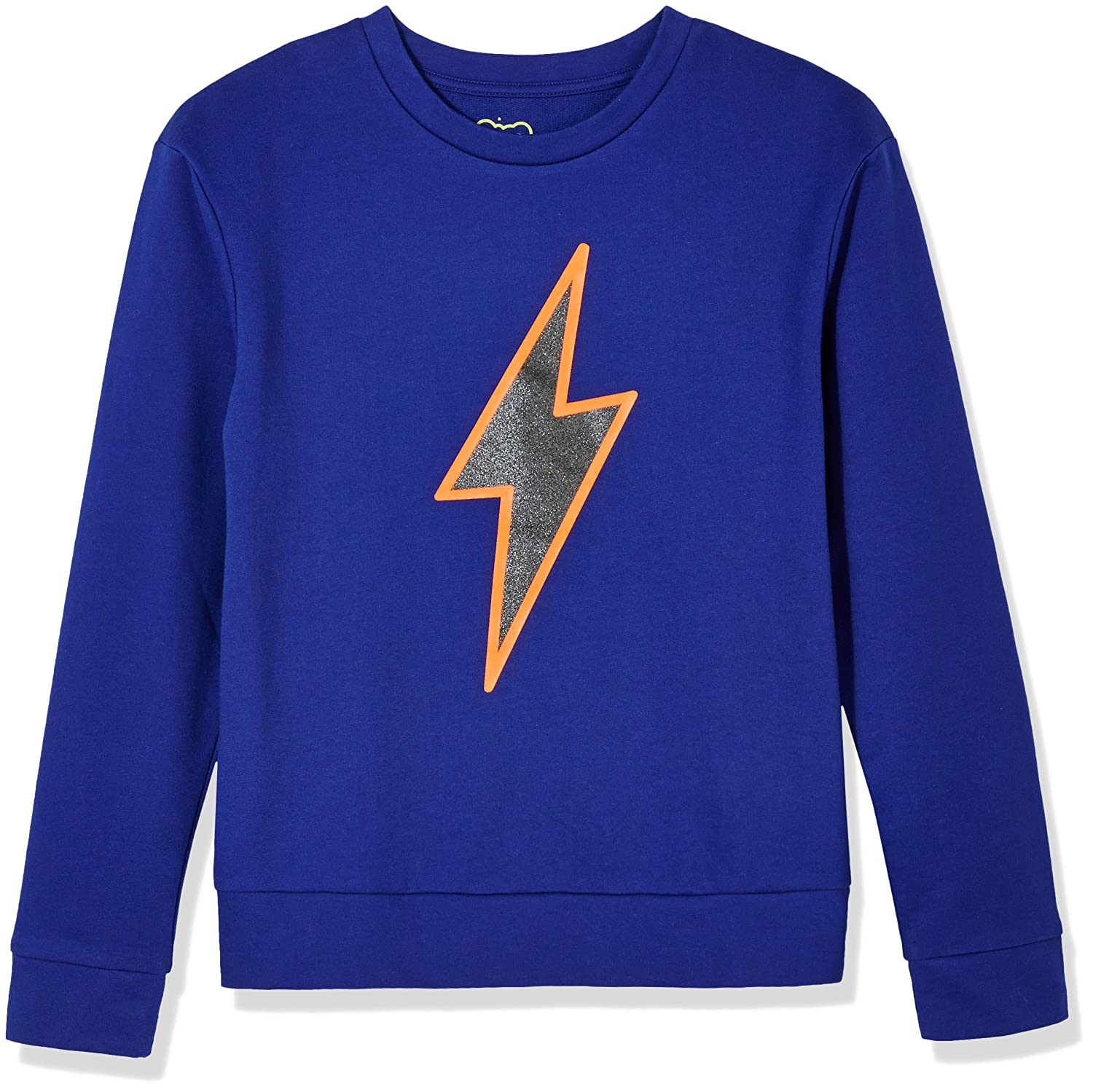 A for Awesome Youth Boys Long-Sleeve French Terry Sweatshirt with Placed Graphic