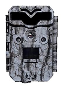 "Alpha Cam Premium Hunting Trail Camera 30MP 1080p H.264 30fps IP67 Waterproof Scouting Cam with Ultra Fast Trigger Speed and Recovery Rate HD Long Range IR Night Vision 2.4"" LCD"