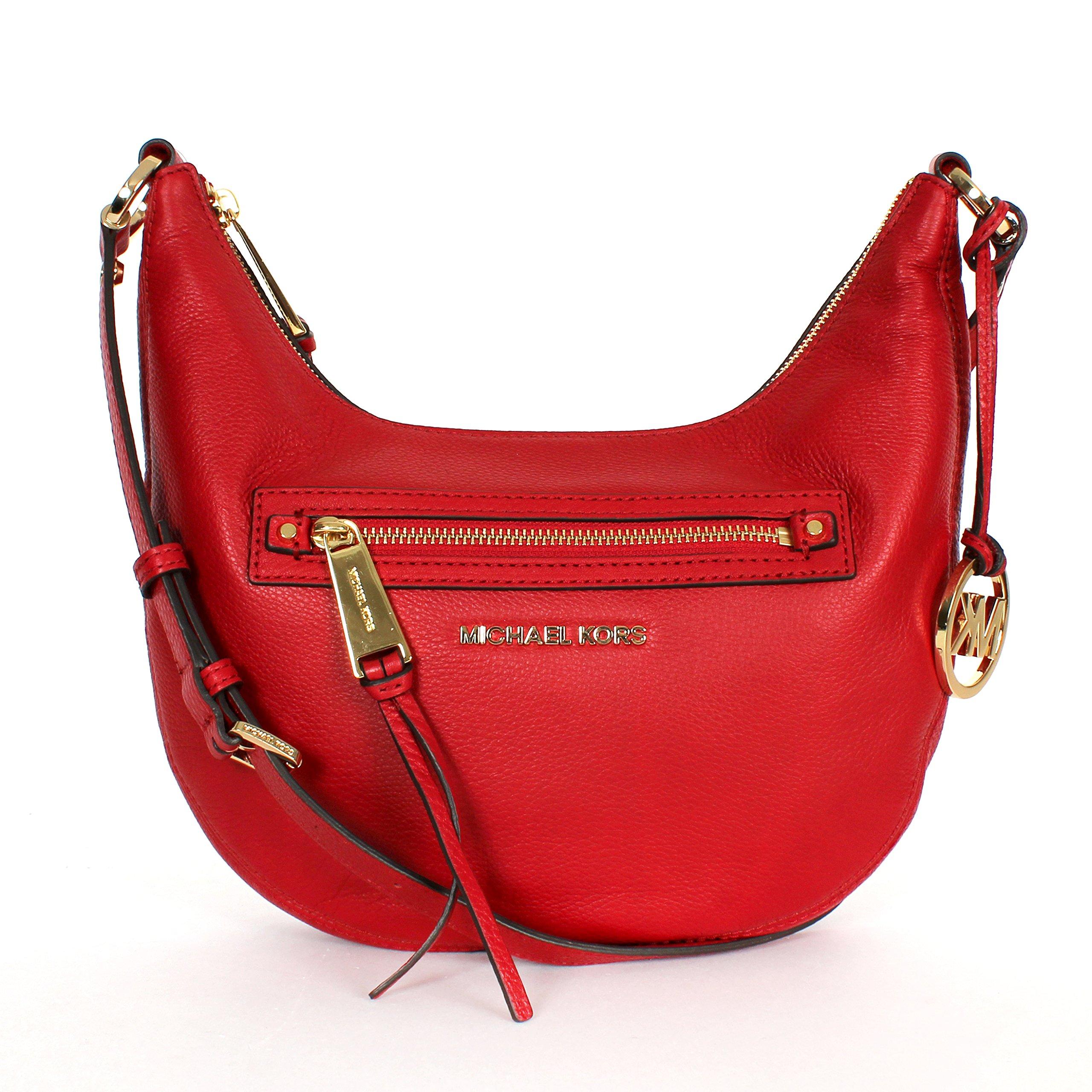 MICHAEL Michael Kors Women's Rhea Small Messenger, Red, One Size