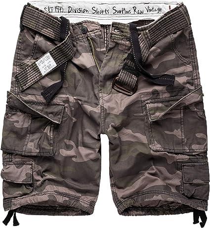 TALLA 5XL. Surplus Division Shorts Pantalón Corto para Hombre