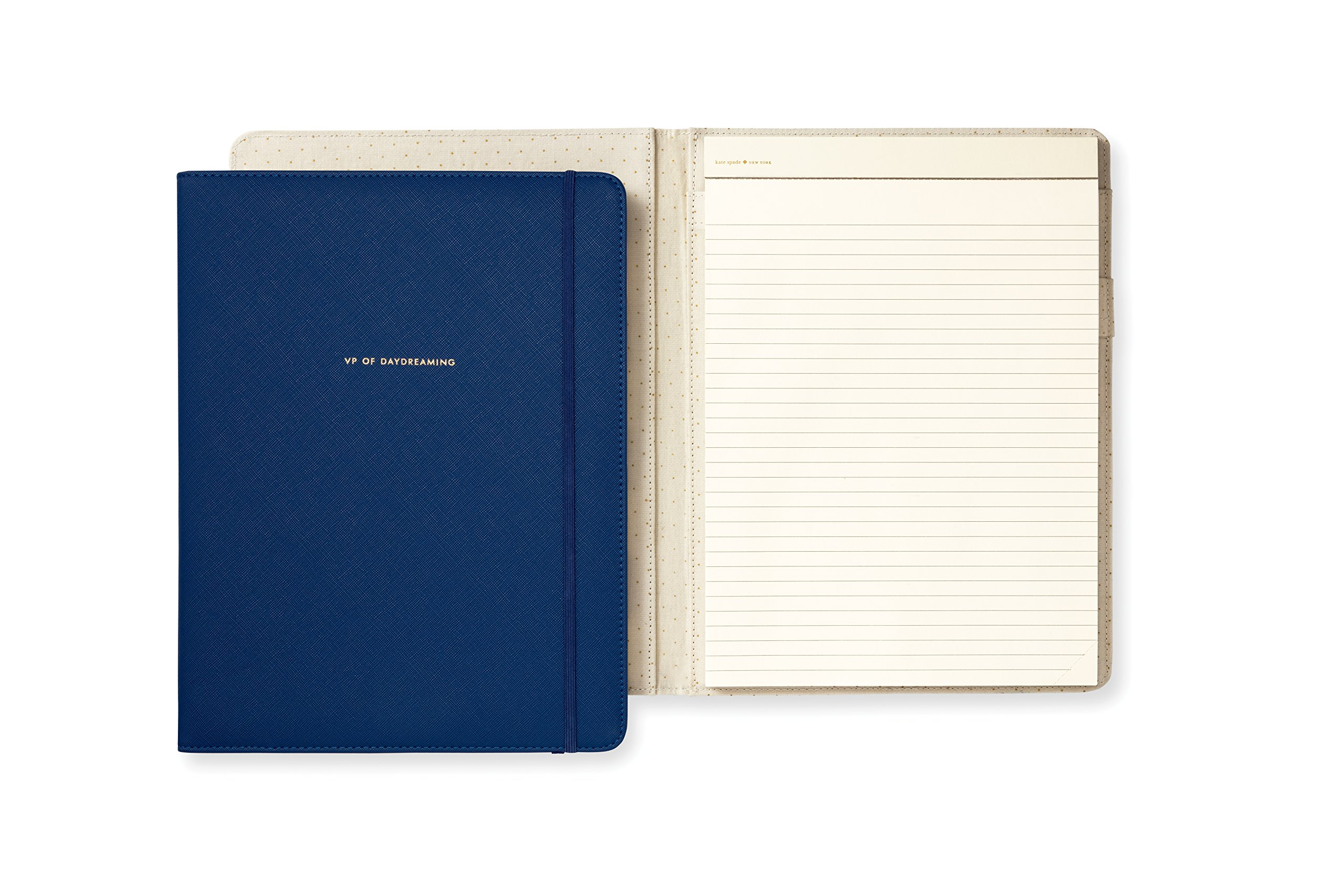 Kate Spade New York VP of Daydreaming Notepad Folio, Blue