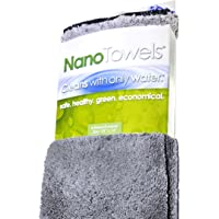 Life Miracle Nano Towels - Amazing Eco Fabric That Cleans Virtually Any Surface with Only Water. No More Paper Towels Or…