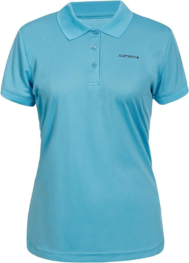 ICEPEAK Mujer Kassidy Polo Camiseta