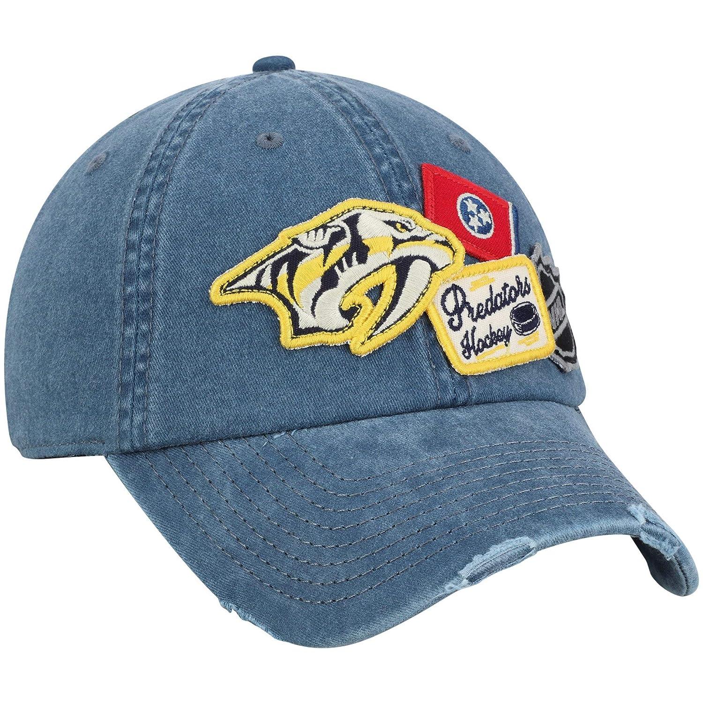 American Needle Nashville Predators Iconic Patches Adjustable Strapback Hat