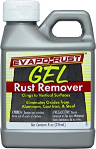 Evapo-Rust GEL Rust Remover Removes Rust and Rust Stains from Most Surfaces, 8oz