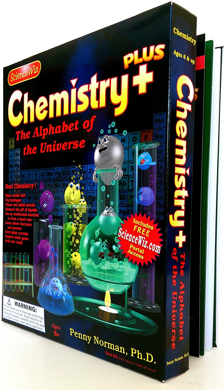 Amazon science wiz chemistry plus experiment kit toys games solutioingenieria Gallery