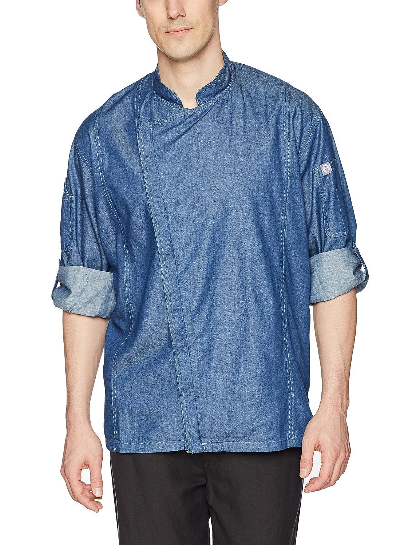 Chef Works Men's Gramercy Denim Coat EXDZ001-P