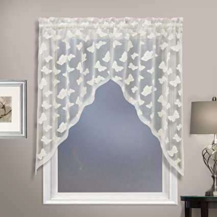 United Curtain Madame Window Curtain Café Kitchen Swag, 52\