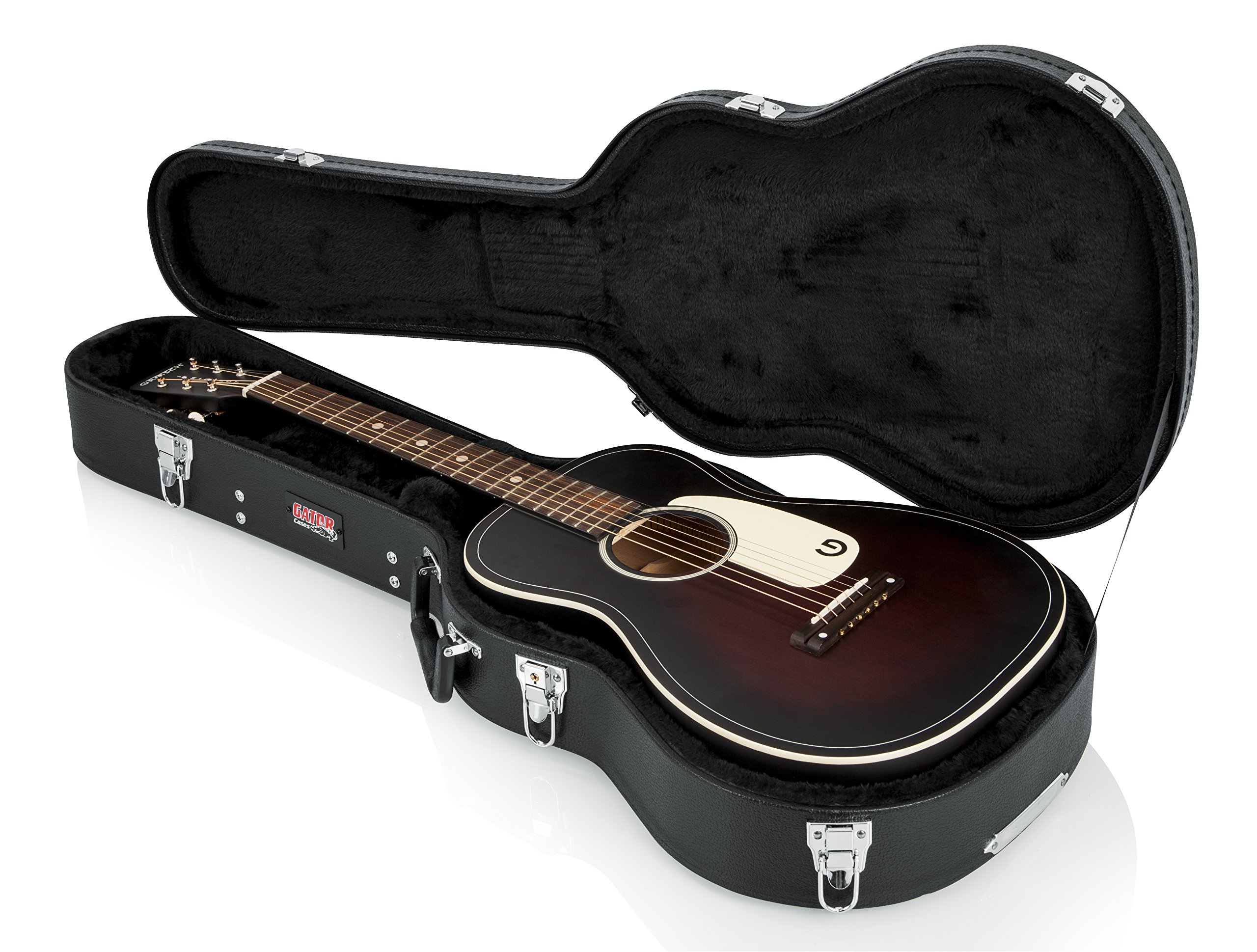 Gator Cases Hard-Shell Wood Case for 3/4 Sized Acoustic Guitars (GWE-ACOU-3/4) by Gator (Image #4)