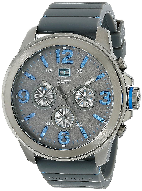 Buy Tommy Hilfiger Men S 1791094 Analog Display Quartz Grey Watch