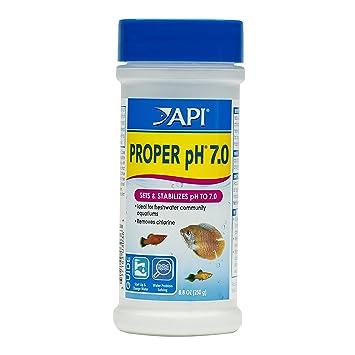 amazon com api proper ph 7 0 freshwater aquarium water ph