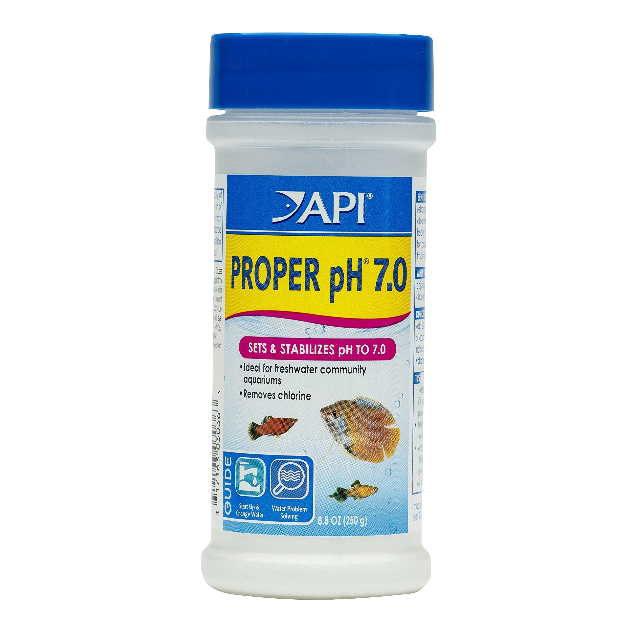 API PROPER pH 7.0 Freshwater Aquarium Water pH Stabilizer 8.8-Ounce Container