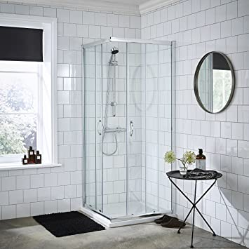valuebaths Jade Badezimmer 900 x 900 x 1850 mm hoch ...