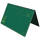 Foldable Cutting Mat A2 Self Healing Imperial 24 Inch x 18 Inch - Green