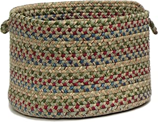 product image for Colonial Mills Twilight Utility Basket, 14 by 10-Inch, Palm