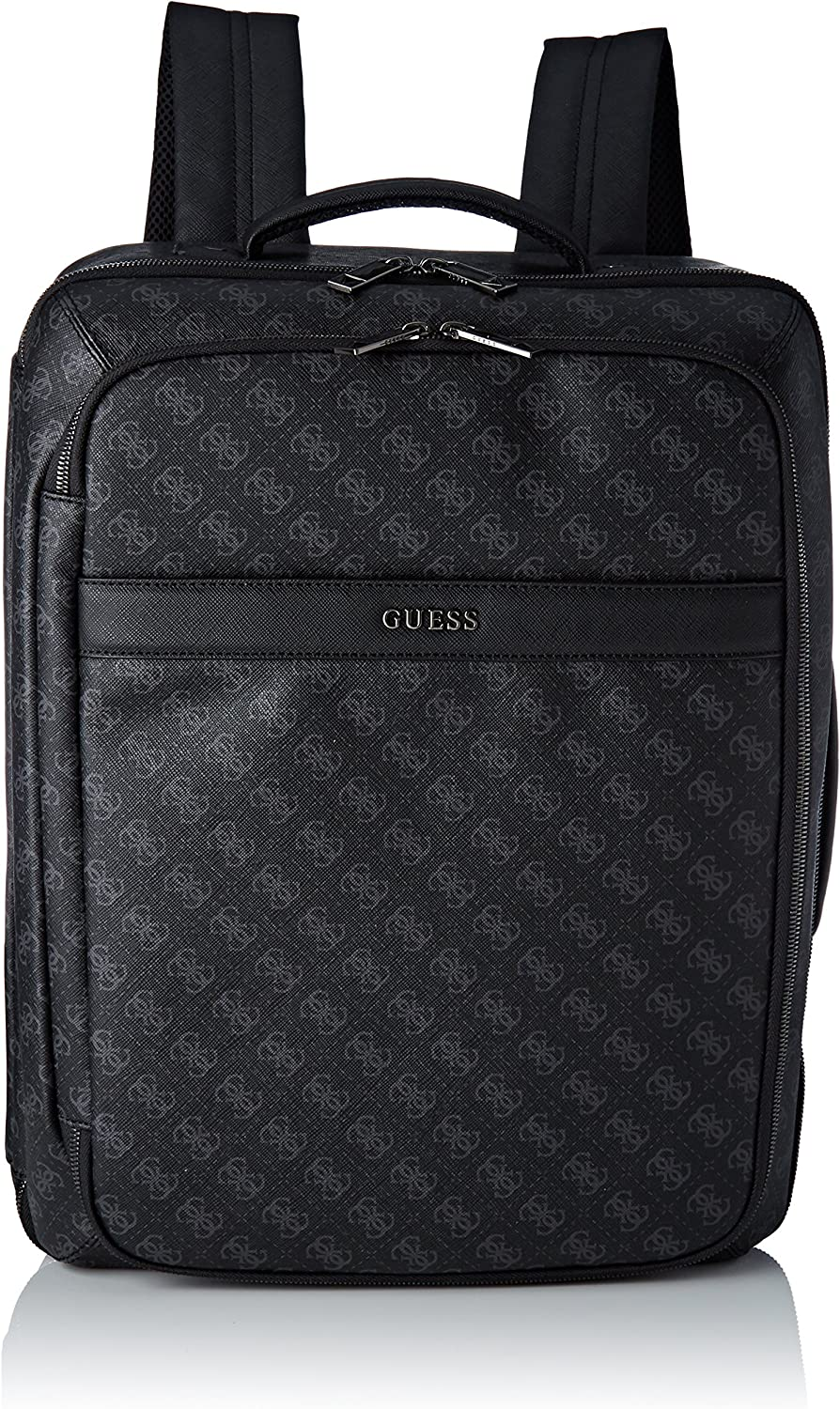 Guess Bags Backpack, Sacs à dos homme, Noir (Black