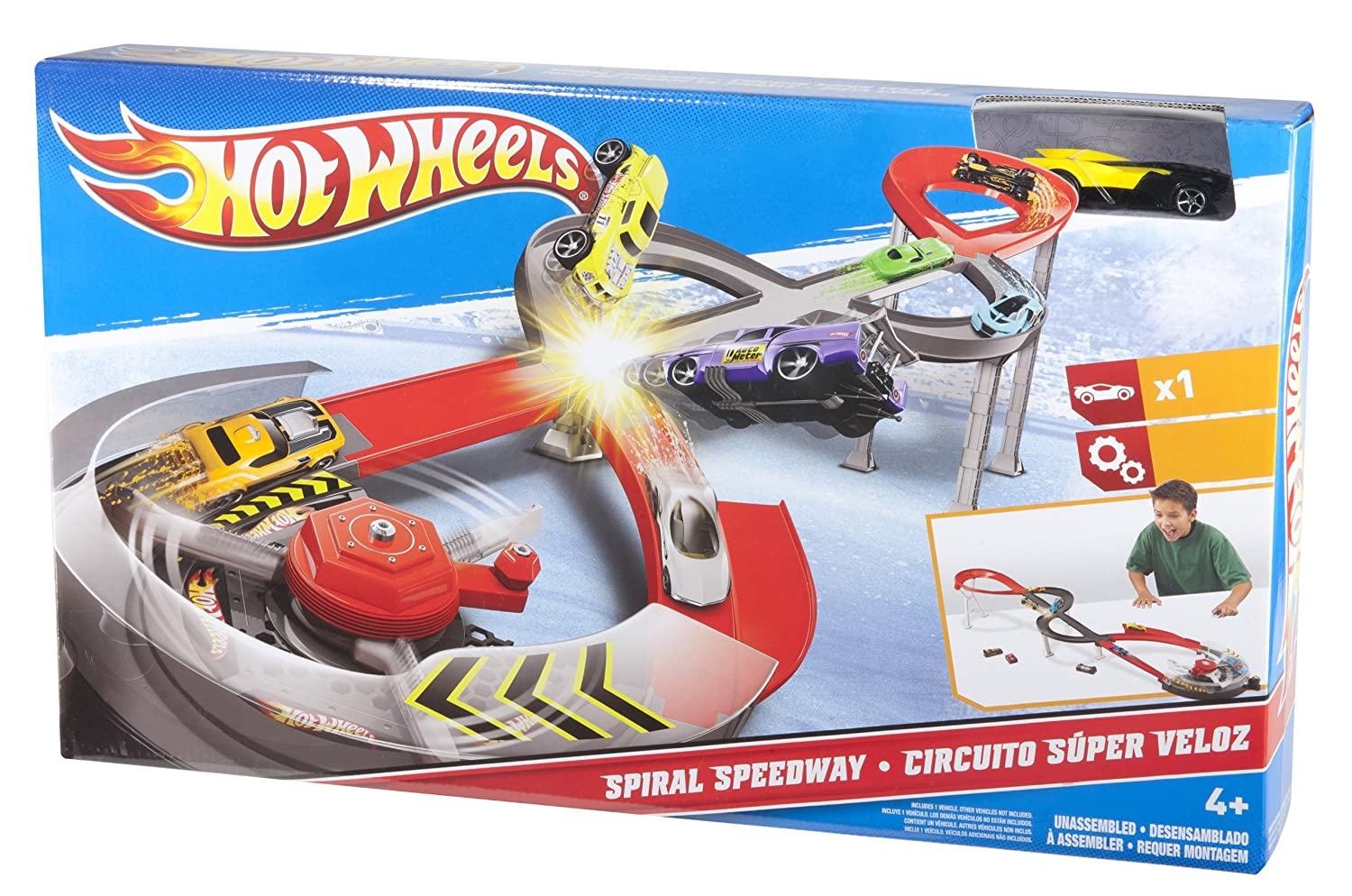 Circuito Hot Wheels : Buy hotwheel hot wheels spiral speedway online at low prices in