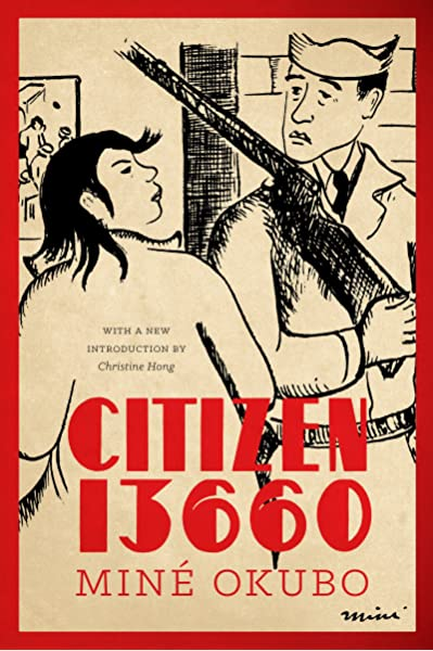 Cover of Citizen 13660, showing some of Okubo's art.