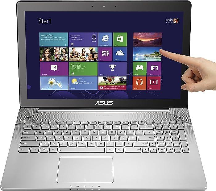 ASUS N550J 15.6-Inch Laptop (Intel Core i7-4700HQ 2.4GHz Processor, 1TB Hard Drive, 8GB RAM, Windows 8.1 64-bit) Silver Grey